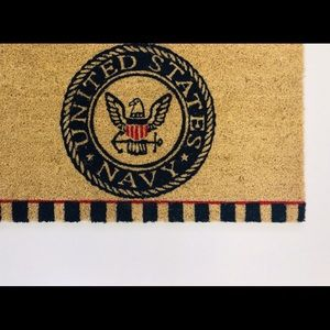 United States Navy Licensed Welcome Mat